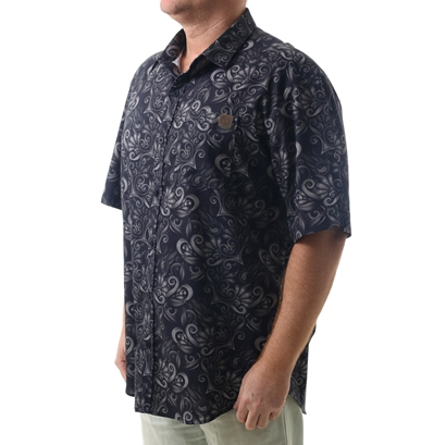 Camisa town & country honolulu plus size