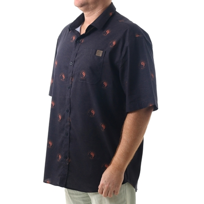 Camisa town & country oahu plus size