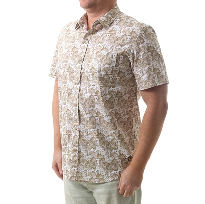 Camisa town & country hawaii plus size