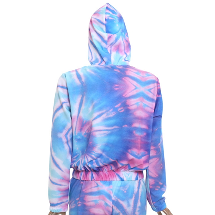 Blusa town & country girls microfibra tie dye
