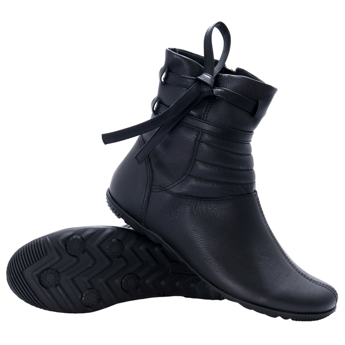 Bota town & country girls roma cano baixo black