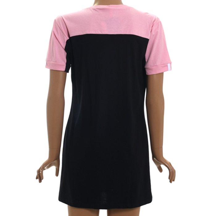 Vestido tricats t-shirt big world - 31565t