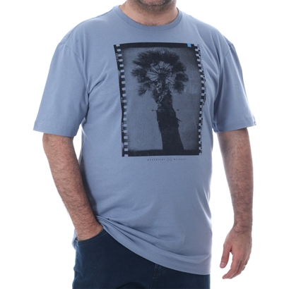 Camiseta wave giant básica flim plus size