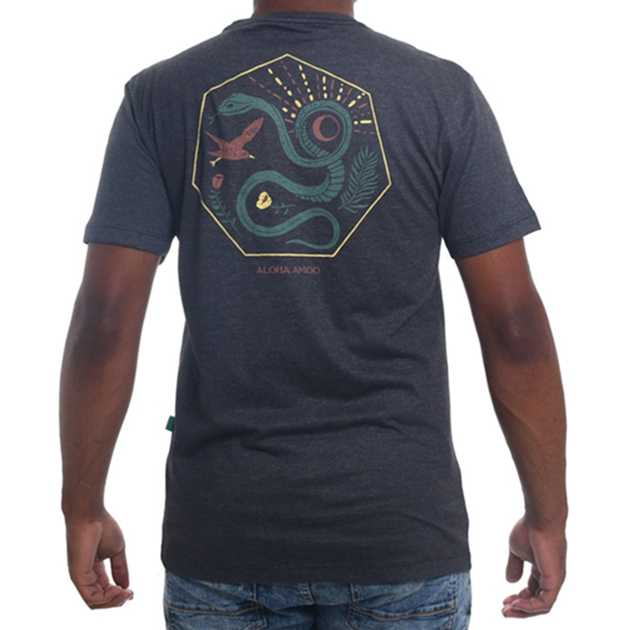 Camiseta vissla básica silk desert point