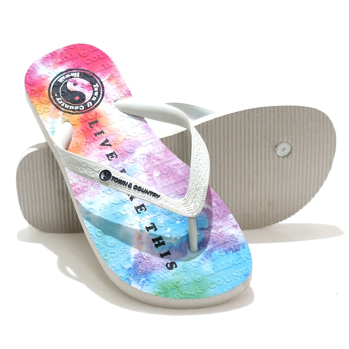 Chinelo town & country tie die sky - ctc202080a