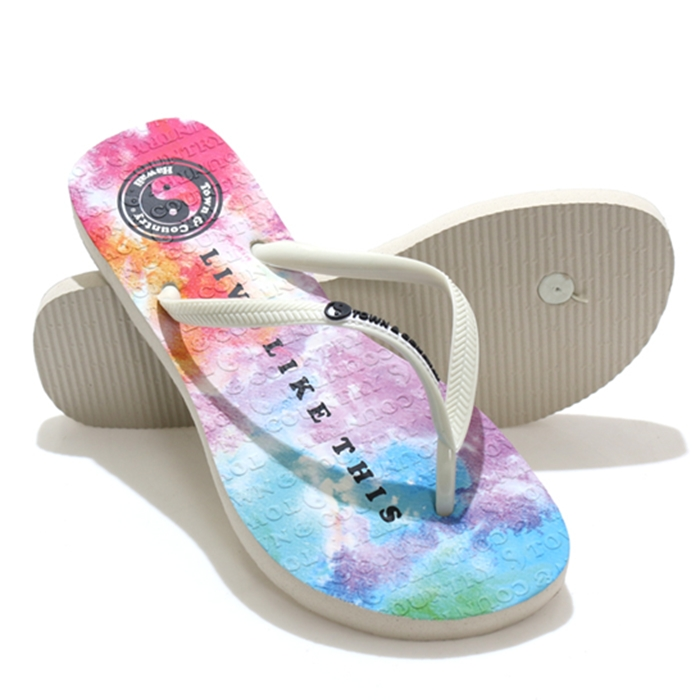 Chinelo town & country girls tie die sky - ctc202082a