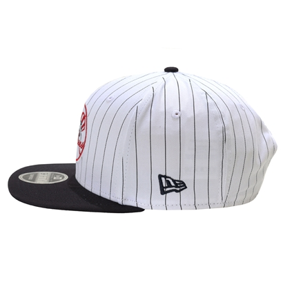 Boné new era new york yankees 9fifty original fit snapbnack stripe white